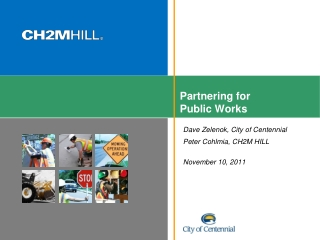 Partnering for Public Works
