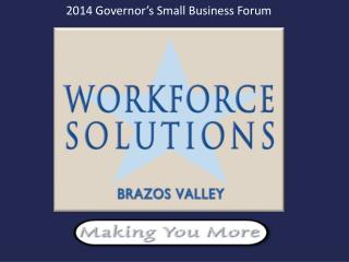 2014 Governor's Small Business Forum