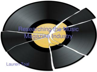 Researching the Music Magazine Industry