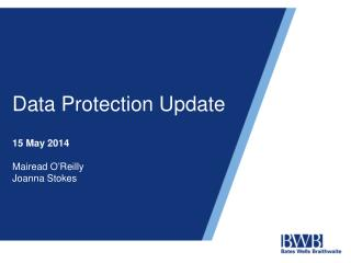 Data Protection Update