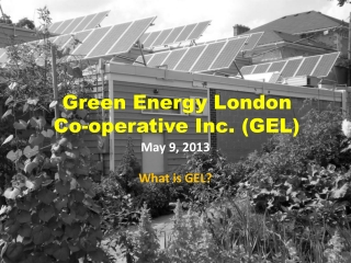 Green Energy London  Co-operative Inc. (GEL)