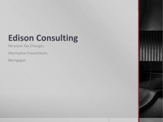 Edison Consulting
