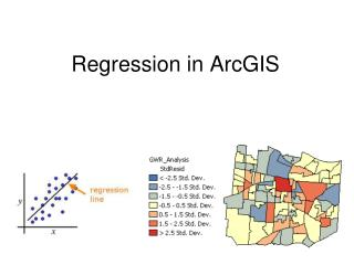 Regression in  ArcGIS