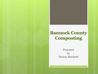 Bannock County Composting