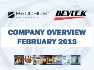 COMPANY OVERVIEW  FEBRUARY 2013
