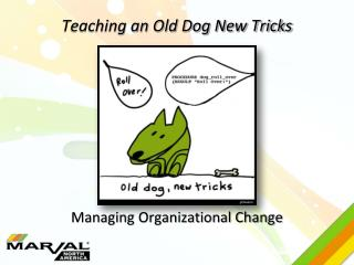 Teaching an Old Dog New Tricks