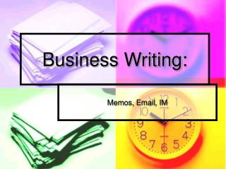 business writing: