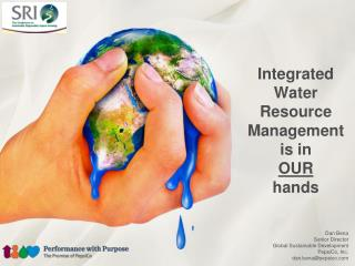 Integrated Water Resource Management is in OUR hands