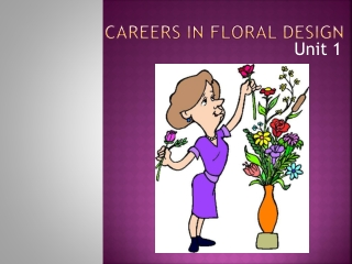 Careers in Floral Design