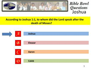 According to Joshua 1:1, to whom did the Lord speak after the death of Moses?