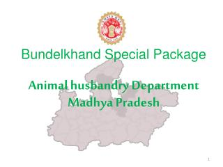 Bundelkhand Special Package Animal  husbandry Department  Madhya  Pradesh