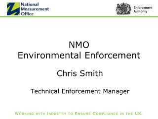 NMO  Environmental Enforcement