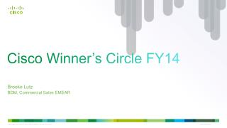 Cisco Winner's  Circle FY14