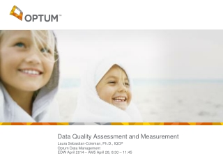 Data Quality Assessment and Measurement