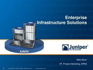 Enterprise  Infrastructure Solutions