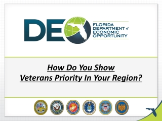 How Do You Show Veterans Priority In Your Region?