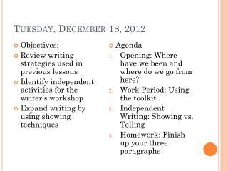 Tuesday, December 18, 2012