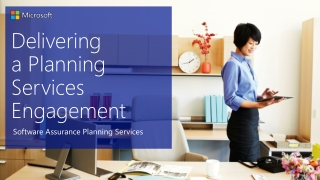 Delivering  a Planning Services Engagement
