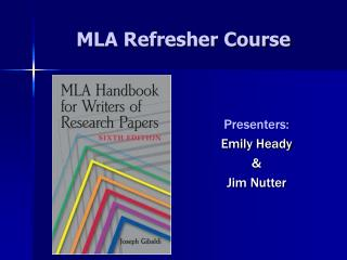mla refresher course