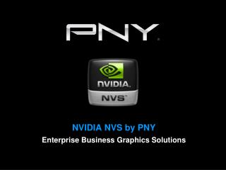 NVIDIA NVS by  PNY