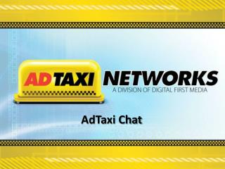 AdTaxi Chat