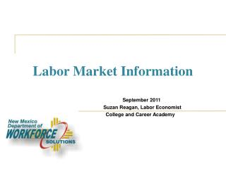 Labor Market Information
