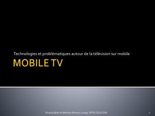 MOBILE TV
