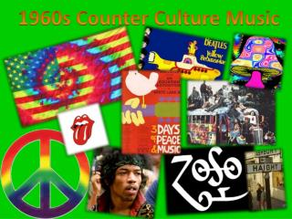 1960s Counter Culture Music