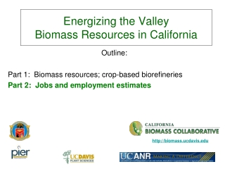 Energizing the Valley Biomass Resources in California