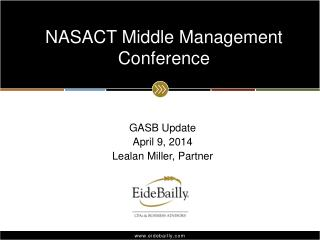 NASACT Middle Management Conference