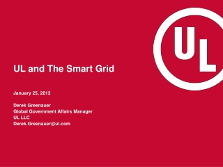 UL and The Smart Grid