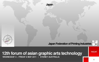 12th forum of asian  graphic arts technology