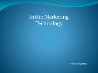 InSite  Marketing Technology