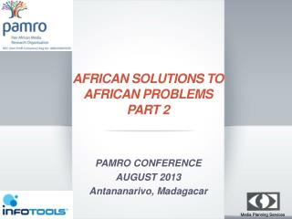 African Solutions To African Problems  Part  2