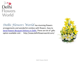 Flowers Bouquet Delivery in Delhi