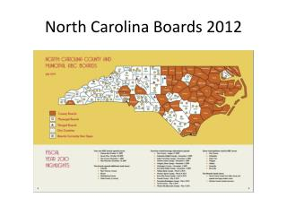 North Carolina Boards 2012