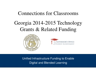 Connections for Classrooms Georgia 2014-2015 Technology Grants & Related Funding