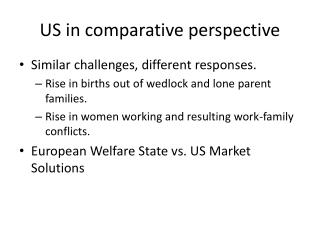 US in comparative perspective