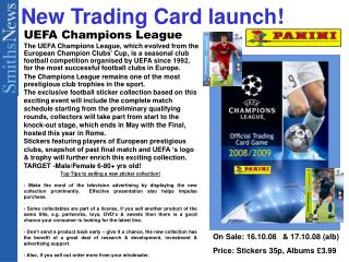 New Trading Card launch!