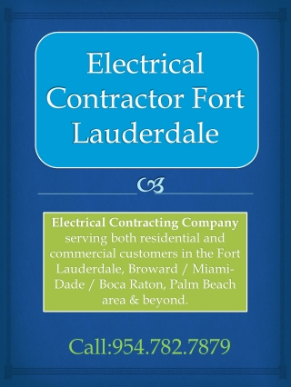 Electrician Fort Lauderdale