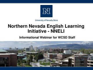 Northern Nevada English Learning Initiative - NNELI