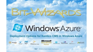 Deployment Options for Kentico CMS in Windows Azure