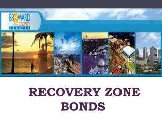 Recovery Zone Bonds
