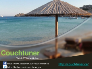 Couchtuner - Watch TV Show Online