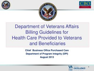 VA Healthcare Purchased from the Community