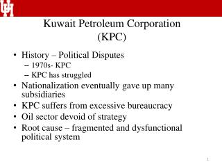 Kuwait Petroleum Corporation (KPC)