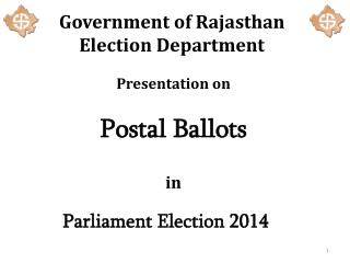 Government of Rajasthan Election Department