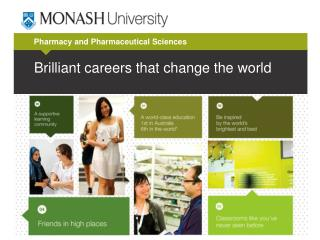Brilliant careers that change the world