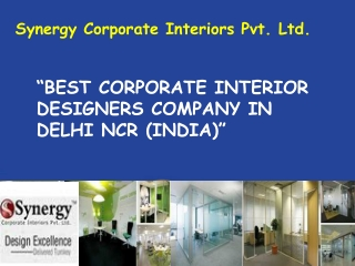 Importance Of Office Interior Designers