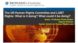The UN Human Rights Committee and LGBT Rights: What is it doing? What could it be doing?